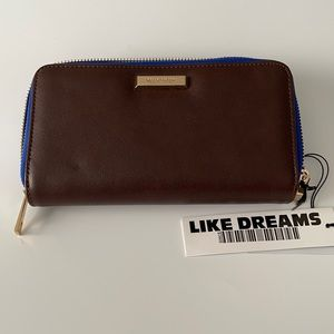 Dream Control Brown Vegan Leather Wallet